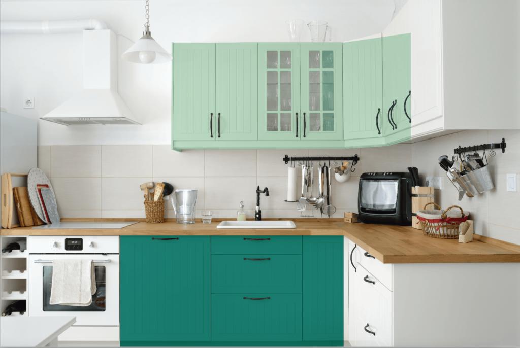 """Resultado de imagen de pintura para mobiliario de cocina"""""""